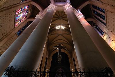 Behind the High Altar