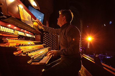 Tim Brumfield improvising on the Great Organ