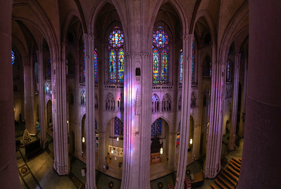 St. John the Divine Nave Panorama