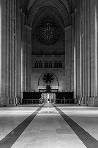 St. John the Divine - Black  & White
