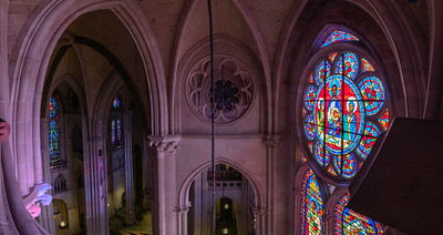 Panorama from the upper parts of the cathedral