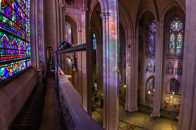 Clerestory level panorama