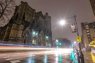 Rainy Night on Amsterdam Ave