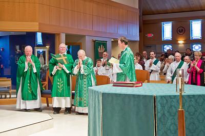 2014-03-01 Deacon Dahl Retirement Mass