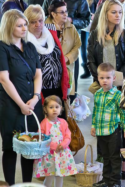 2014-04-19 1100 AM Easter Basket Blessing