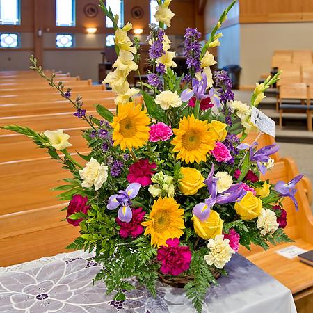 2014-12-11 Fr Ted Schmitt Wake & Service