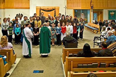 2008-11-16 Blessing of New Altar Boys & Girls