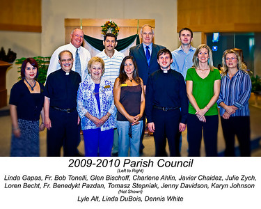 2009-2010 Parish Council