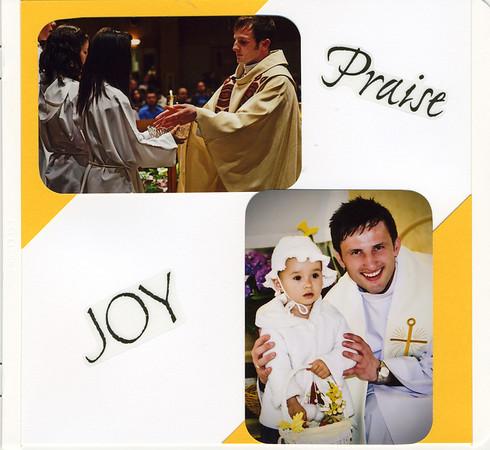 Farewell Fr Benedykt Scrapbook