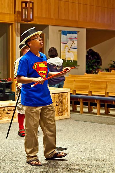 2009-05-13 Godspell Jr-Dress Rehersal