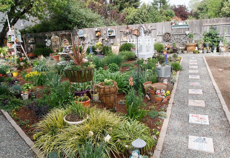 St. John\'s Garden Tour: modern/industrial and whimsical flower ...