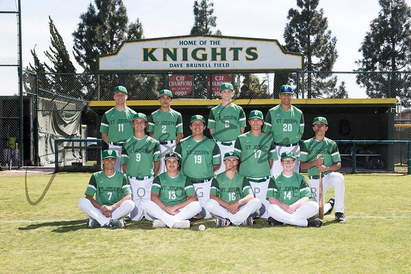 St. Joseph High School Baseball 2018
