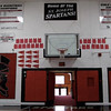St. Joe's gymnasium.