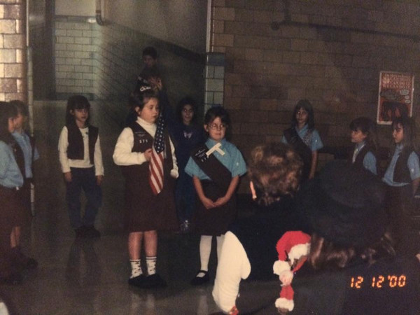 2000 – Brownie ceremony in the cafeteria.