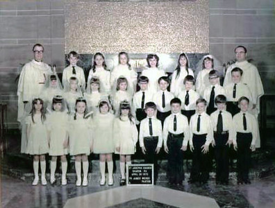 1972 First Holy Communion Class