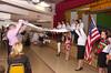 Parents greet graduates with embroidered towels. <br /> Зворушливий момент батьківського благословення дітей вишиваними рушниками.