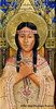 "Image is a panel from our Chapel Pentaptych painted and gifted by artist Affie MacPharlan Poirier in 2003. St. Kateri Tekakwitha Roman Catholic Church LaGrangeville, NY<br /> <a href=""http://www.saintkateriparish.com/Chapel__Triptych.html?1340190223390"">http://www.saintkateriparish.com/Chapel__Triptych.html?1340190223390</a>"
