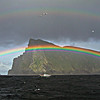 Rainbows ,Boreray St Kilda