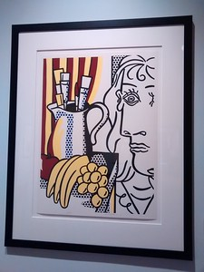 Roy Lichtenstein piece