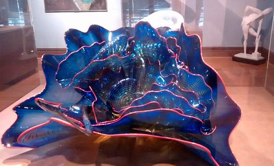 Dale Chihuly Glass The museum has several pieces on display
