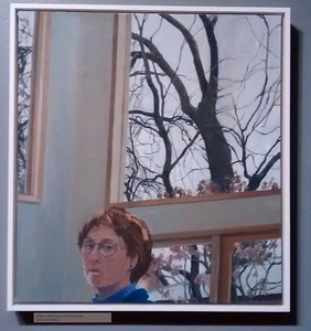 Winter Afternoon (Self-Portrait) Linda Skrainka