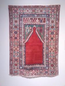 Ladik Prayer Rug ( ca 1800)