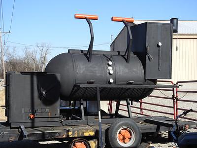 Huge Mobile BBQ smoker