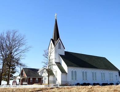 Trinity Luthern Church, Orchard Farm, Mo.