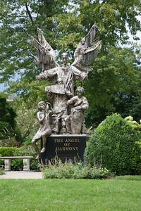Statue in yard