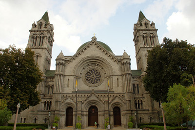 Front of cathedral