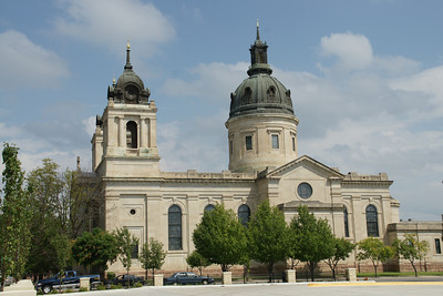Exterior view of cathedral