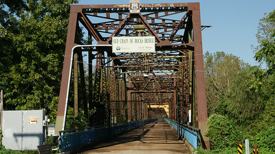 Entrance on Illinois side of bridge