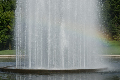 Rainbow in Keith Fountain