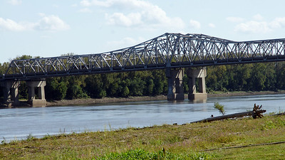 Bridge over Missouri River