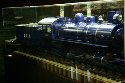 Model Railroad Locomotive display