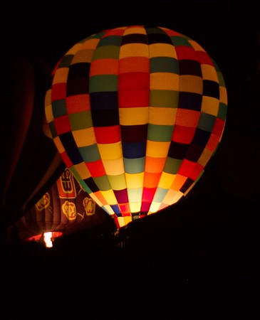 Balloon Glow in Forest Park, September 19, 2008