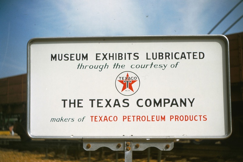 MOTX 221 - Feb 28 1955 - Texaco Sign at St Louis Museum of transport