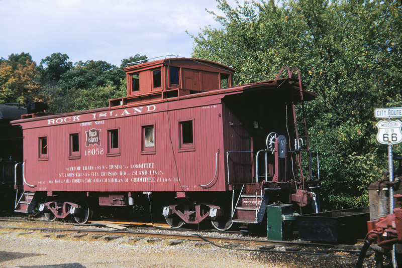 MOTX 3 - Sep 17 1953 - Rock Island Caboose 18058