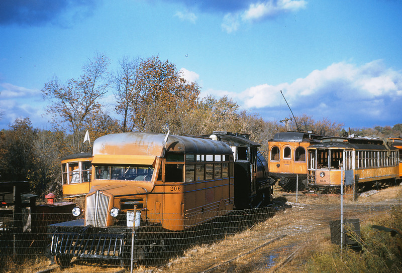 MOTX 145 - Nov 4 1954 -ITS railbus 206, PSC 615 & ITS 241 St Louis Museum of Transport