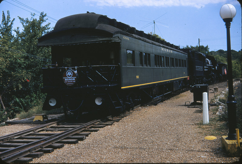 MOTX 11 - Sep 17 1953 - Monon Business Car 90