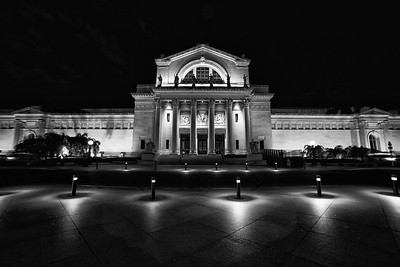 St Louis Art Museum at Night