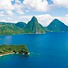 Anse Chastanet & The Pitons