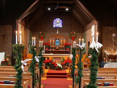 St. Luke's Christmas 2002