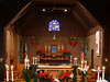 St. Luke's, Ewing, at Christmas, 2002.