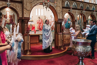 _NIK8433 Greek Baptism Twins