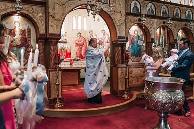 _NIK8435 Greek Baptism Twins
