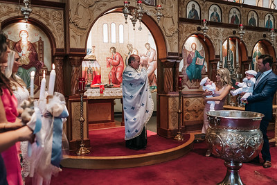 _NIK8434 Greek Baptism Twins