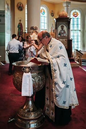 _NIK7876 Greek Baptism Twins