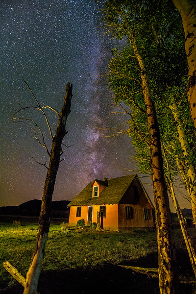 Homestead Teton Valley and Milky-Way
