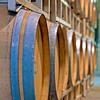 Wine caskets at an Idaho winery near Caldwell Idaho